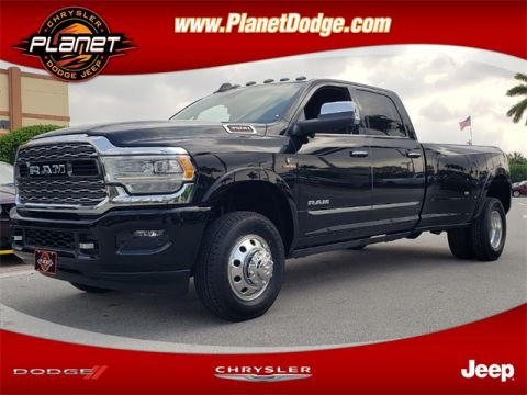 New 2020 RAM 3500 Limited 4x4 Crew Cab