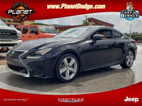 Pre-Owned 2016 Lexus RC 200t RWD 2D Coupe